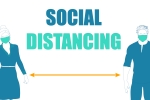 Graphic of social distancing