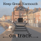 Keep Great Yarmouth On Track campaign